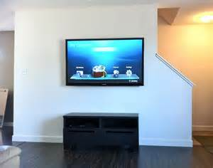 Flat Screen Tv With Wall Mount At First Glance Wall Mounting A Flat Screen Tv Seemed