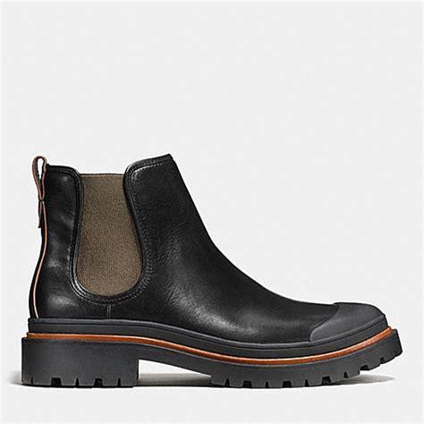 coach boots mens coach mens boots cedar chelsea boot