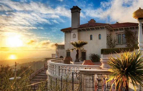 Gothic Victorian Houses by Hearst Castle A Museum Like No Other California Beaches