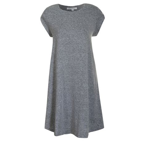 Buy Glamorous Swing Dress Grey Marl Print
