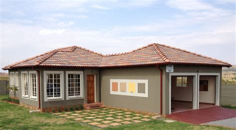 single houses single storey house plans in south africa search