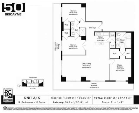 50 biscayne floor plans 50 biscayne condominiums for sale and rent