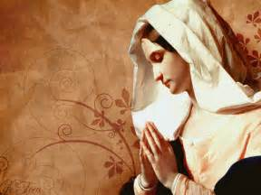 blessed mary in art