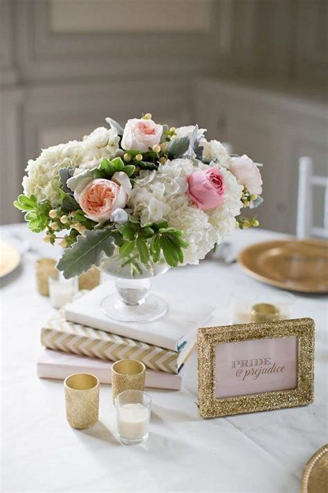 36 Shabby Chic Vintage Wedding Ideas Wedding Shabby Chic Wedding Table Centerpieces