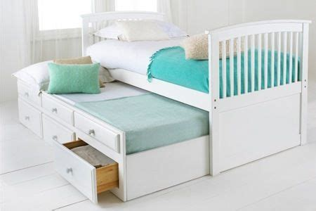 capitano white trundle bed with drawers capitano white trundle bed with drawers from worldstores