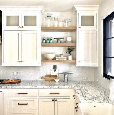 open shelf under kitchen cabinets shelves between shelving image result for floating shelves between cabinets