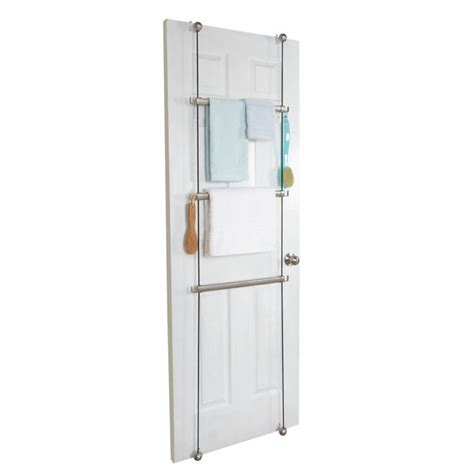 The Door Towel Rack With Hooks by Buy Towel Bar Ring Toilet Paper Holder Hooks Umbra