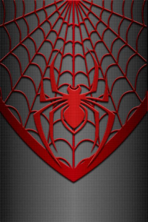 miles morales spiderman costume wallpaper by kalel7 on
