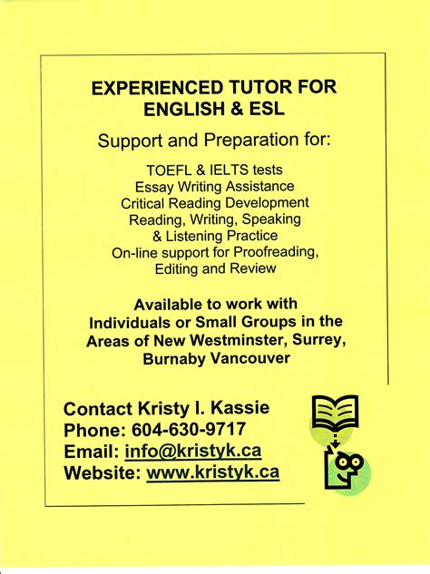 Free Essay Writing Tutor by Tutoring Flyers Sles Images