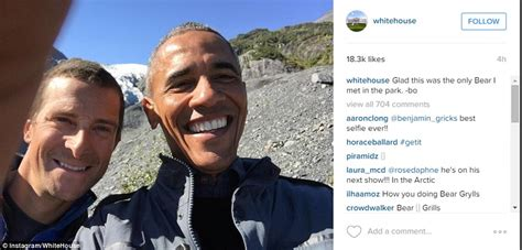 bear grylls house barack obama and bear grylls go hiking in alaskan wilderness daily mail online