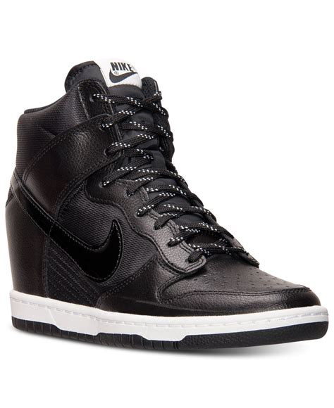 dunk sneakers nike s dunk sky hi essential sneakers from finish