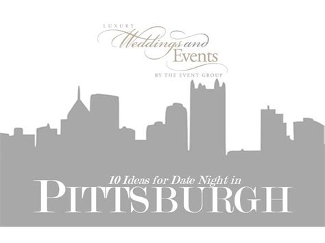 2013 holiday gift guide for newlyweds pittsburgh luxury holiday date night in pittsburgh the event group weddings