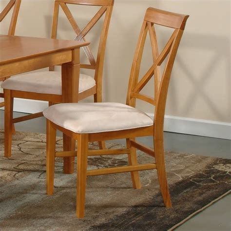 Caramel Overall Set by Atlantic Furniture Dining Chair In Caramel Latte