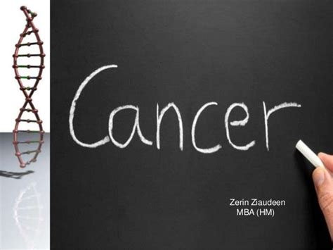 Mba Hm by Cancer Presentation