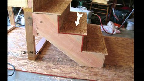 stair tread   build stairs youtube