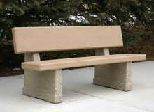 concrete benches with backs benches w backs m archives doty concrete