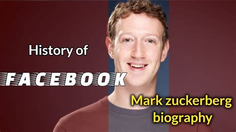 Mark Zuckerberg Biography Youtube | history of facebook ফ সব ক র ন জ ন কথ all facebook