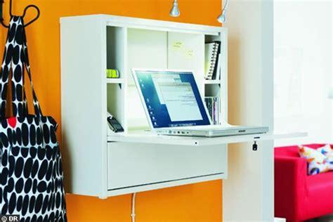 Rangements Malins Pour Plus D Espace C 244 T 233 Maison Fr Bureau Pliable Ikea