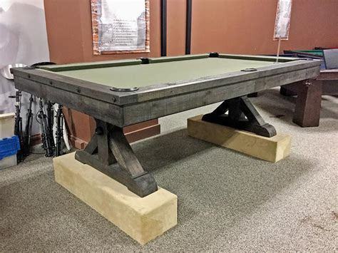 plank and hide pool table plank and hide otis pool table robbies billiards