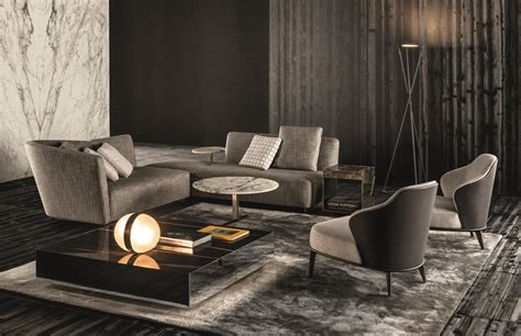 Minotti Home Design Products by Lounge Seymour By Minotti Design Rodolfo Dordoni