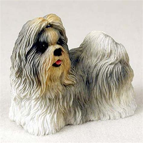 Shih Tzu Figurine Hand Painted Collectible Statue Mixed Fridge Magnet Toys