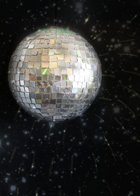 diy disco ball  girl   glue gun skip   lou
