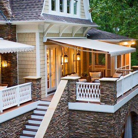 back porch awnings best 20 outdoor awnings ideas on pinterest porch awning