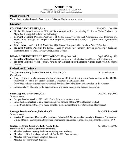 resume format for lecturer resume format for lecturer in computer science resume ideas