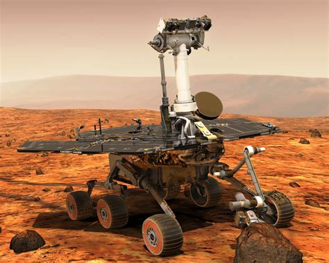 the rovers our spaceflight heritage opportunity rover marks 13 years