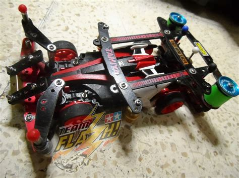 Tamiya Vanguish Jr Mic Series Type 5 Chassis inner type suspension on ms nt 04 chassis tamiya mini 4wd collections