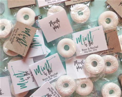 Wedding Favors Mints by Mint Wedding Favor Etsy