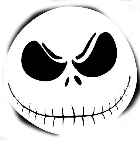 pumpkin king template skellington pumpkin stencil clipart free clipart
