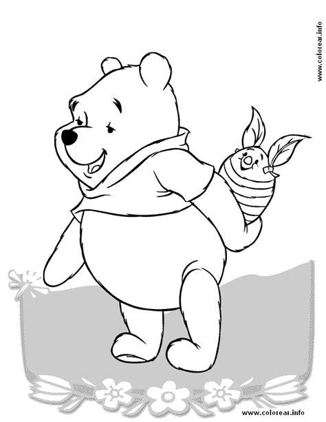 winnie pooh para pintar az dibujos para colorear pooh para pintar az dibujos para colorear