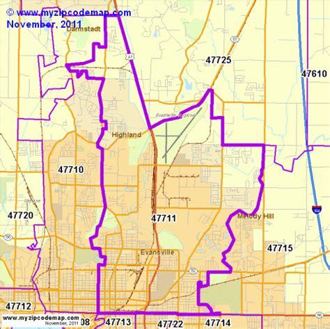 zip code map evansville in zip code map of 47711 demographic profile residential