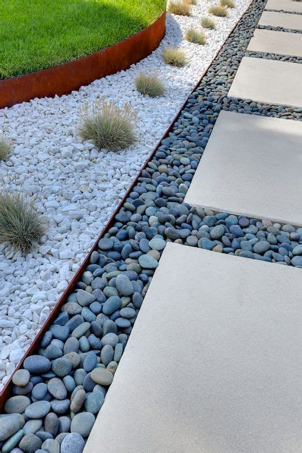 Curb Appeal Concrete Edging - 20 hermosas ideas para decorar tu jard 237 n con piedras
