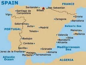 Bilbao Spain Map by Bilbao Spain Map Imsa Kolese