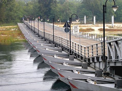 what is a pontoon bridge pontoon bridge a photo from pavia lombardia trekearth