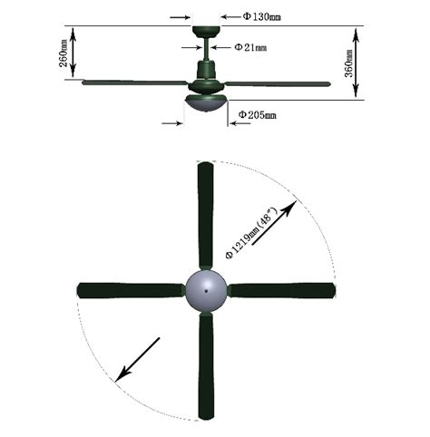 ceiling fan sizes available ceiling fan dimensions the right celling fan dimension