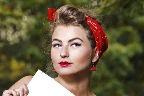 how to do rockabilly hairstyles with bandana 3 retro hairstyles with a bandana