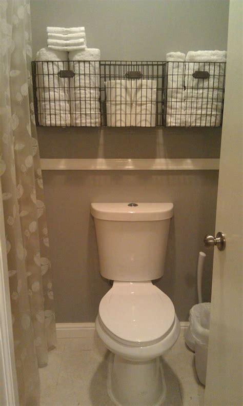 small storage baskets for bathroom diy bathroom storage and organization hacks small