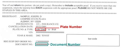 Insurance Enquiry Letter Insurance Inquiry Letter And Suspension Order Sle