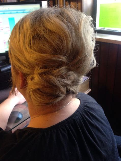 Wedding Hairstyles Side Swept Bun by Bun Side Swept Updo Hair Makeup Nails By Adeline