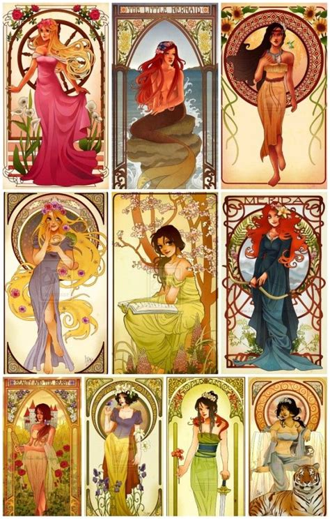 painting for disney princess disney characters princesses nouveau illustrations