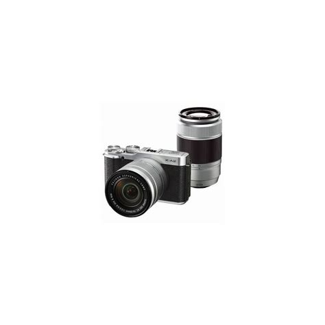 kamera fujifilm xa2 kit 16 50mm fujifilm x a2 kit with 16 50mm ii and 50 230mm lenses silver