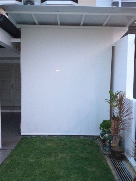 Outdoor Roller Shades Outdoor Blinds Singapore Singapore Blindssingapore Blinds