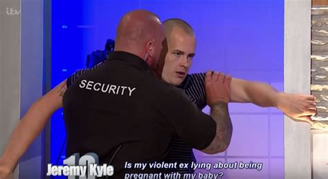 theme music jeremy kyle show the jeremy kyle show chaos as guest threatens to fight the
