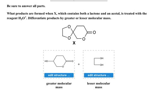 when is a an solved what products are formed when x which contains bo chegg