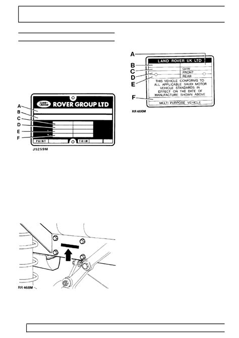 Land Rover Workshop Manuals > 300Tdi Discovery > 01
