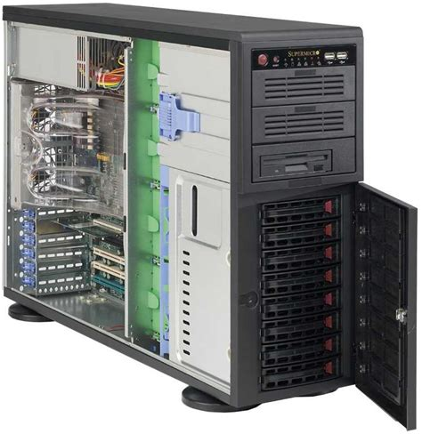 Rack Or Tower Server by Technologies Supermicro Rack Tower Blade And