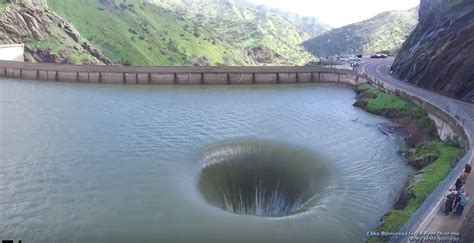 lake berryessa spillway drone captures lake berryessa spillway video simplemost